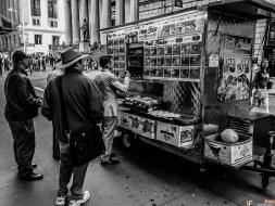 Brokers eating break