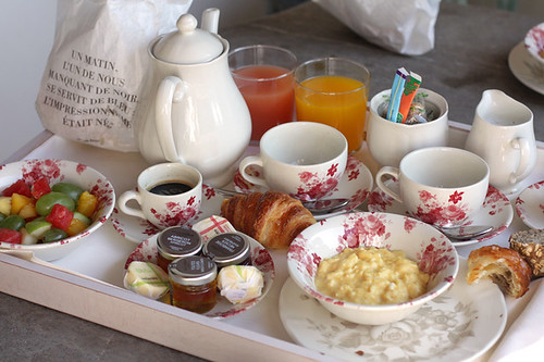 room service breakfast in bed