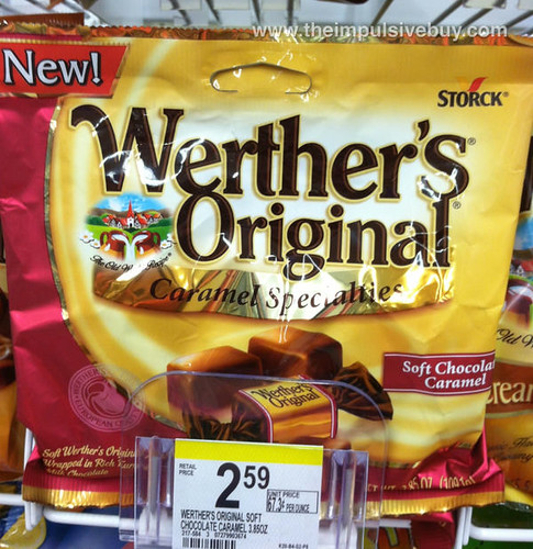 Werther's Original Caramel Specialties Soft Chocolate Caramel
