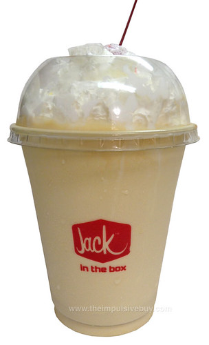 Jack in the Box Pumpkin Spice Shake