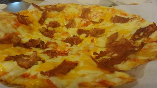 Bacon quesadilla -