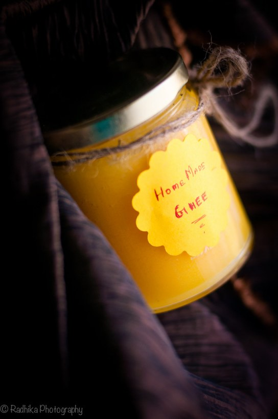 Homemade Ghee from raw milk