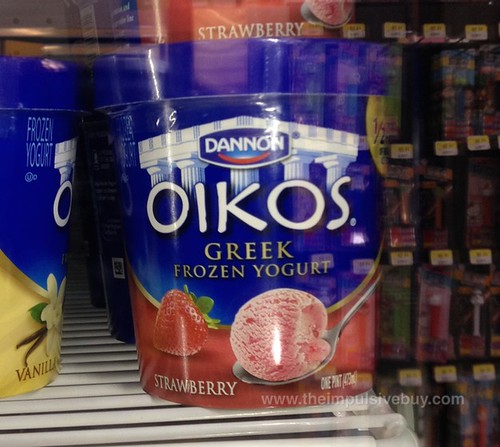 Dannon Oikos Strawberry Greek Frozen Yogurt