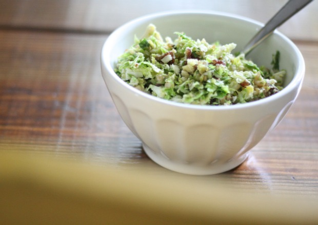Brussels Sprouts Salad Bowl