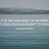 Good Words Wednesday: The Dim Haze