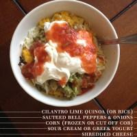 Chipotle Style Vegetarian Burrito Bowls
