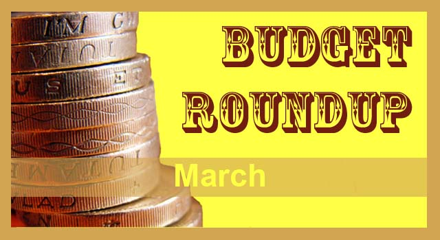 Budget round up