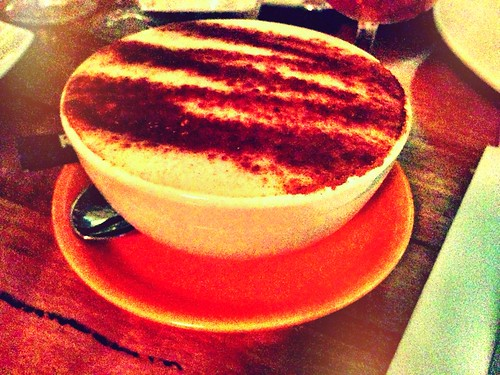 Bowl of Chai Latte!