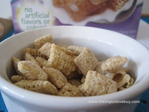 Vanilla Chex Cereal Bowl