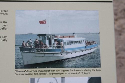 Sorrento - Portsea - Queenscliff ferry 'M.V. Nepean'