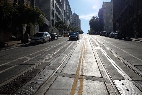 San Francisco steep street