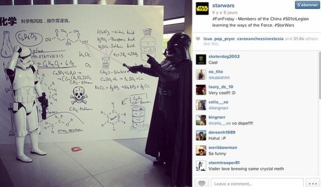 INSTARWARS Teachin' The force