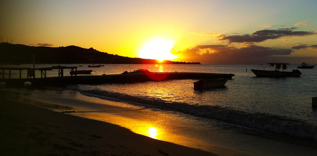 Coconut Beach Sunset (Grand Anse, Grenada)