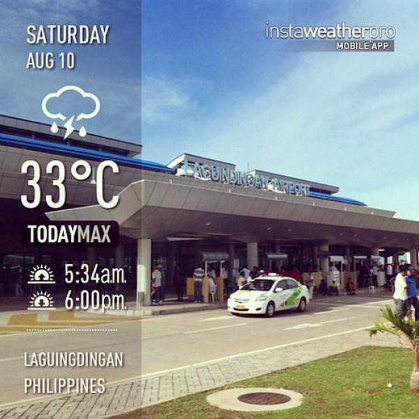 With @pinaytravelista #weather #instaweather #instaweatherpro  #sky #outdoors #nature #world #laguingdingan #philippines #day #ph