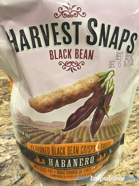 Harvest Snaps Habanero Black Bean Crisps