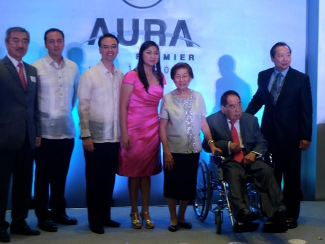 SM Aura opening