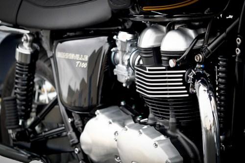 Triumph Bonneville T100 Special Edition Meriden 06