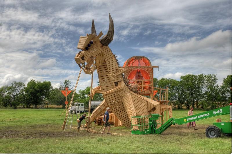 Flipside 2013 Burning Man