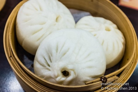 Steamed vegetarian bun  new shanghai