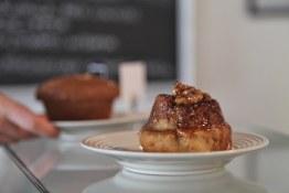Cinnamon Bun at The Gluten Free Bakery