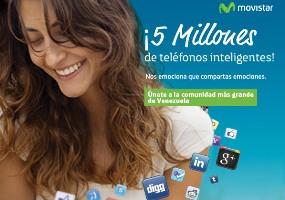 5 Millones de Smartphone en Movistsar Venezuela
