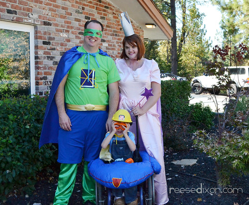 The Super Why Family