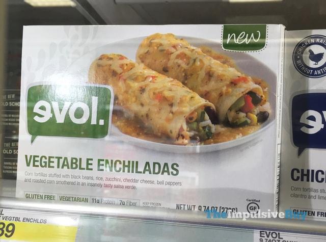 Evol Vegetable Enchiladas