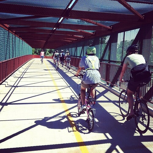 Another shot from Saturday's Easy Riders ride to Lumen8Anacostia