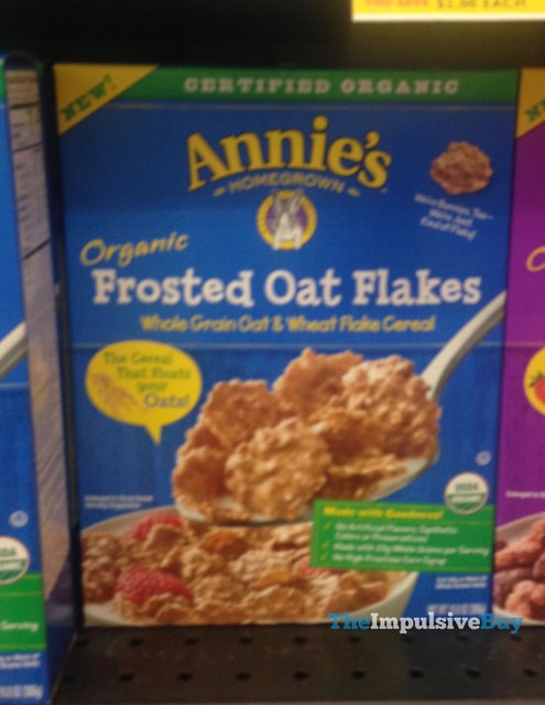 Annie's Homegrown Organic Frosted Oat Flakes Cereal