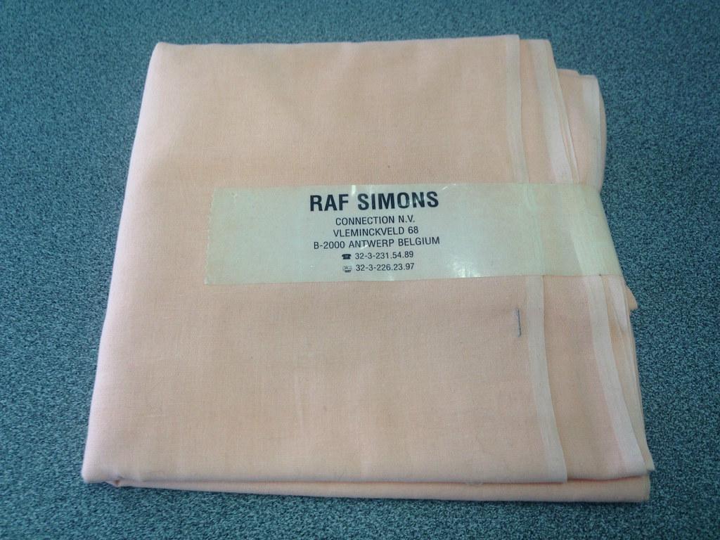 Raf Simons Fabric Belgium