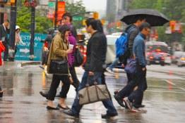 Downtown Pedestrian Traffic