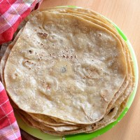 Homemade Vegan Whole Wheat Flour Tortillas Recipe