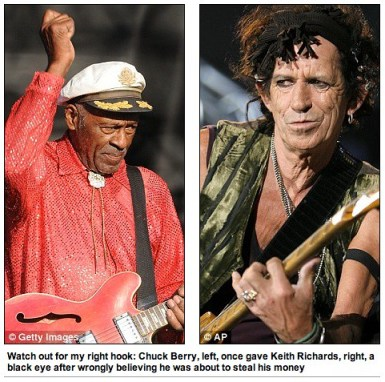 Chuck Berry Keith Richards