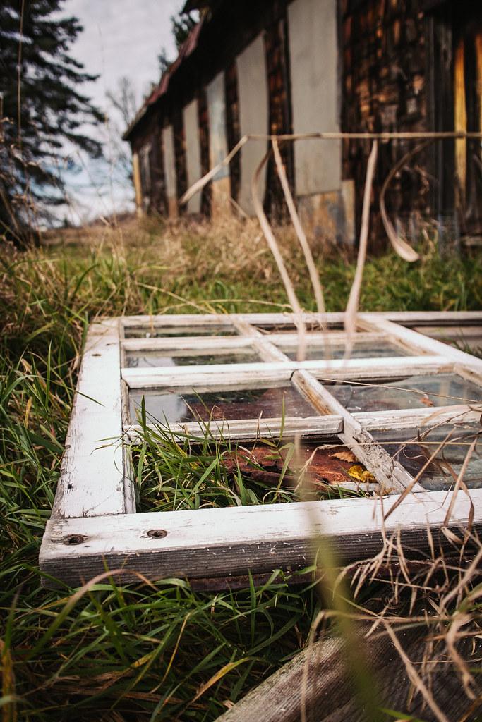Abandoned Farm: Window