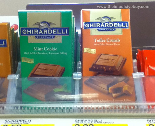 Ghiradelli Mint Cookie and Toffee Crunch
