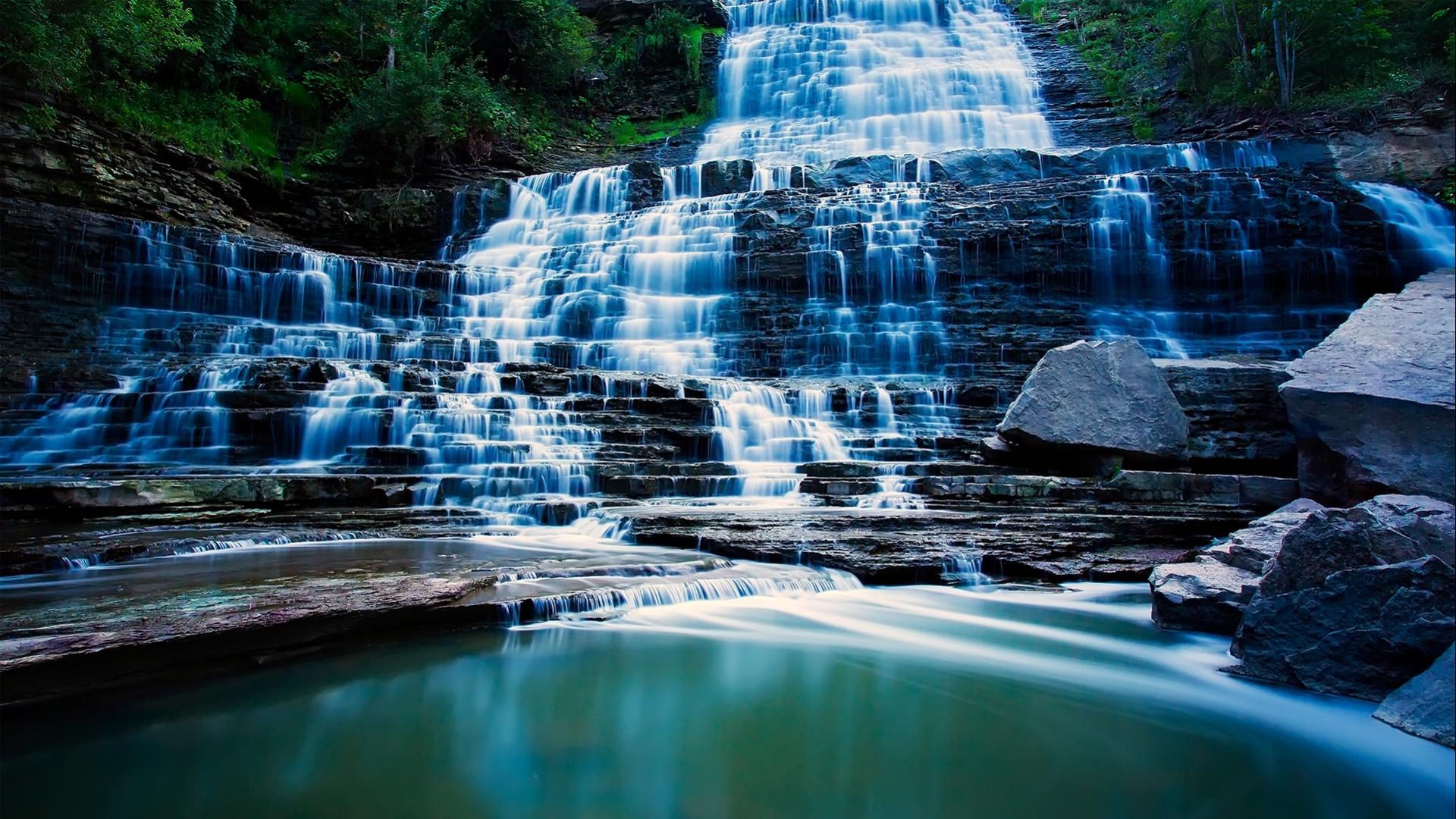 waterfalls wallpapers most beautiful - photo #40