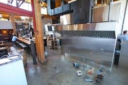 Construction (nice hood) of Belgard Kitchen