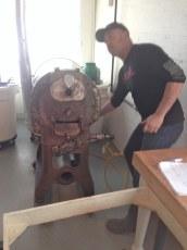 20 charley of woodblock roasting cocoa