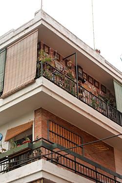 Seville apartment building