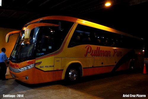 Pullman Sur - Santiago - Marcopolo Paradiso 1050 / Volvo (CDVY65)