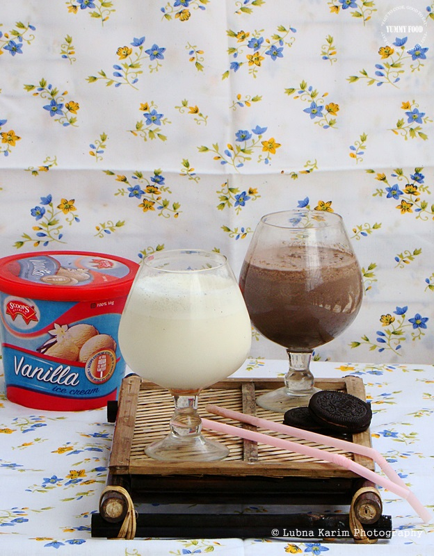 how to make oreo milkshake without ice cream and blender