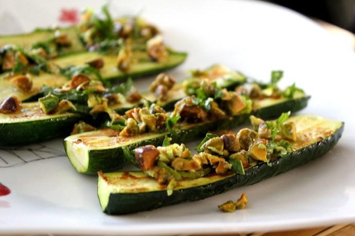 roasted zucchini