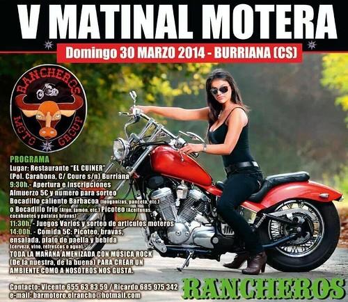 V Matinal Motera Rancheros - Burriana