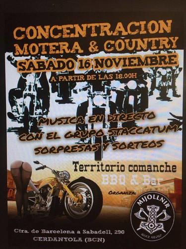 Concentracion Motera y Country - Cerdanyola