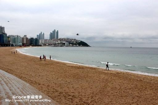 韩国釜山–海云台海水浴场&冬柏岛上遇见美人鱼