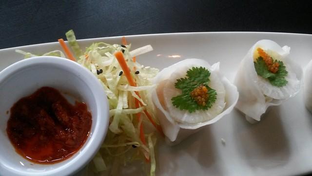 Radish dumpling