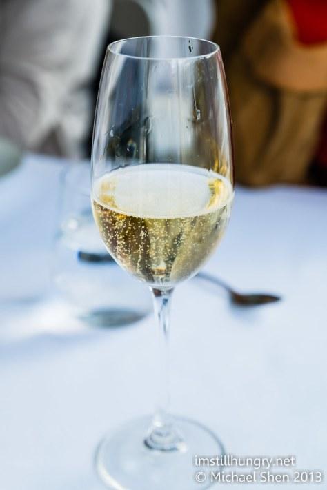 Berowra waters inn champagne
