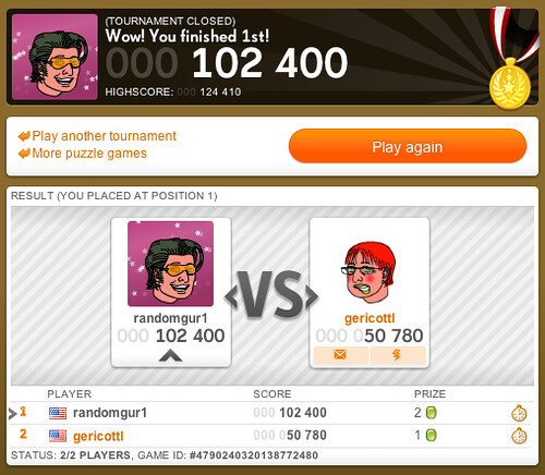 100K wins in Candy Crush Tournament