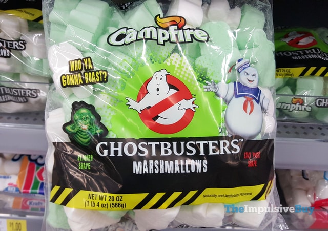 Campfire Ghostbusters Marshmallows