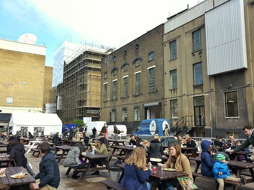 Outdoor tables | Travel | East London Street Food Tour
